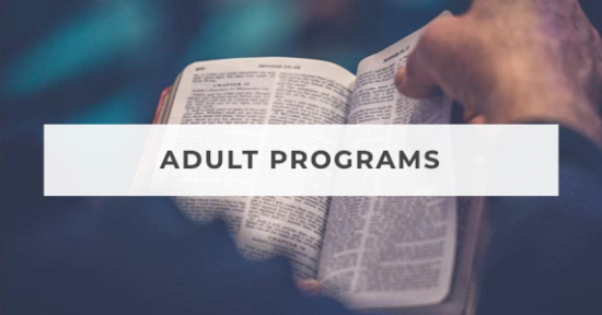 Grace Lutheran Church Adult Programs