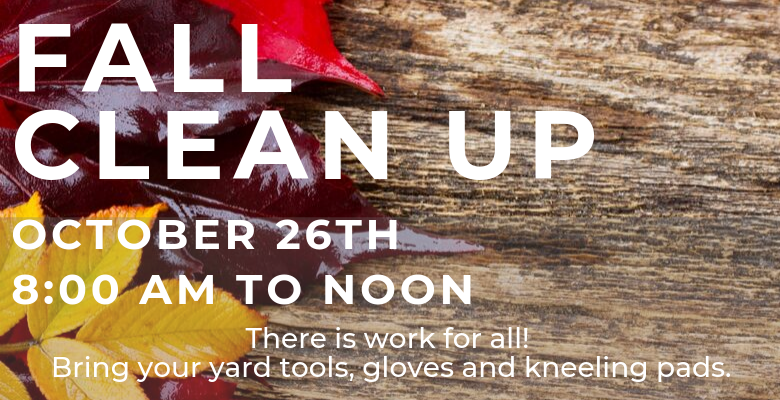 Clean Up Day, Oct 26