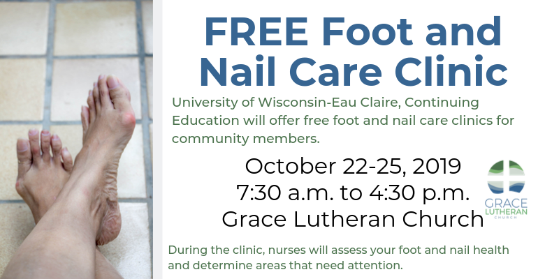 FREE Foot and Nail Care Clinic