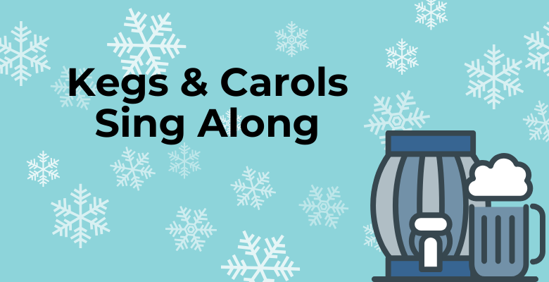 Kegs and Carols Dec 15 at 4-6PM at Lazy Monk