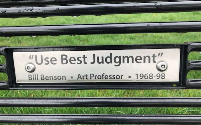 Use Best Judgment