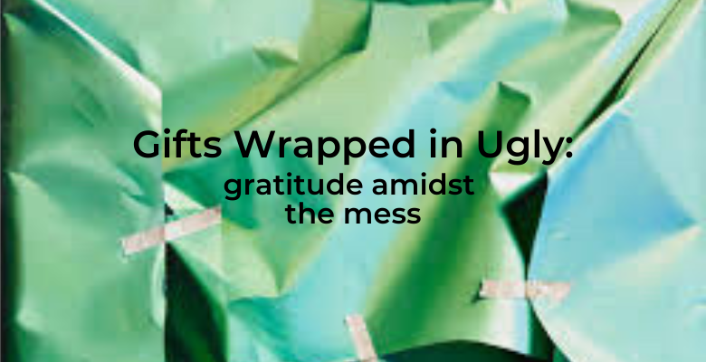 Gifts Wrapped in Ugly