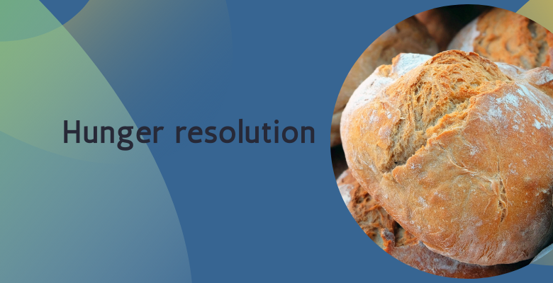 Feeding the Hungry Resolution