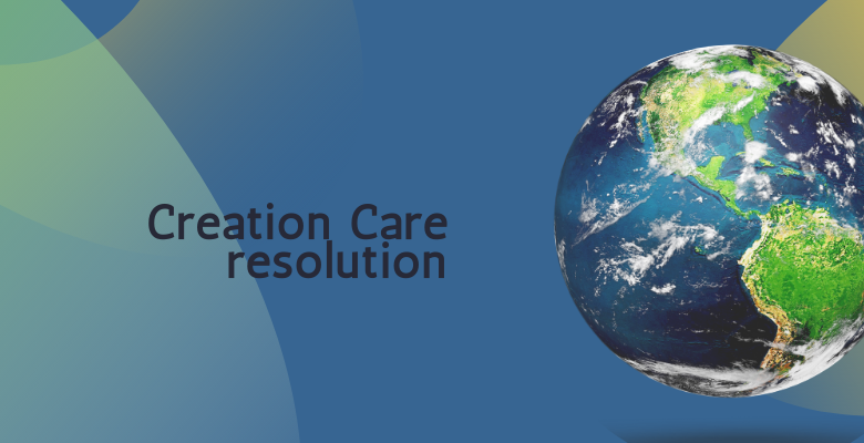 Creation Care resolution