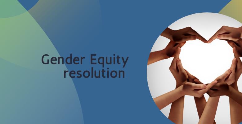 Gender Equity Resolution