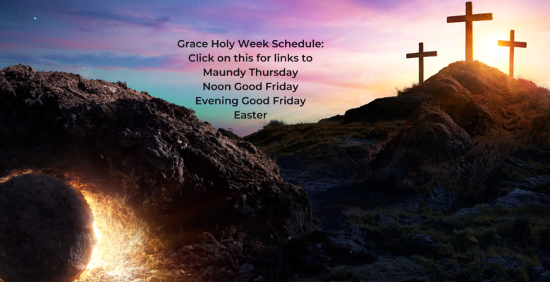 Holy Week Links