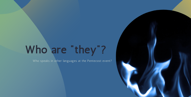 """Who are """"they""""?"""